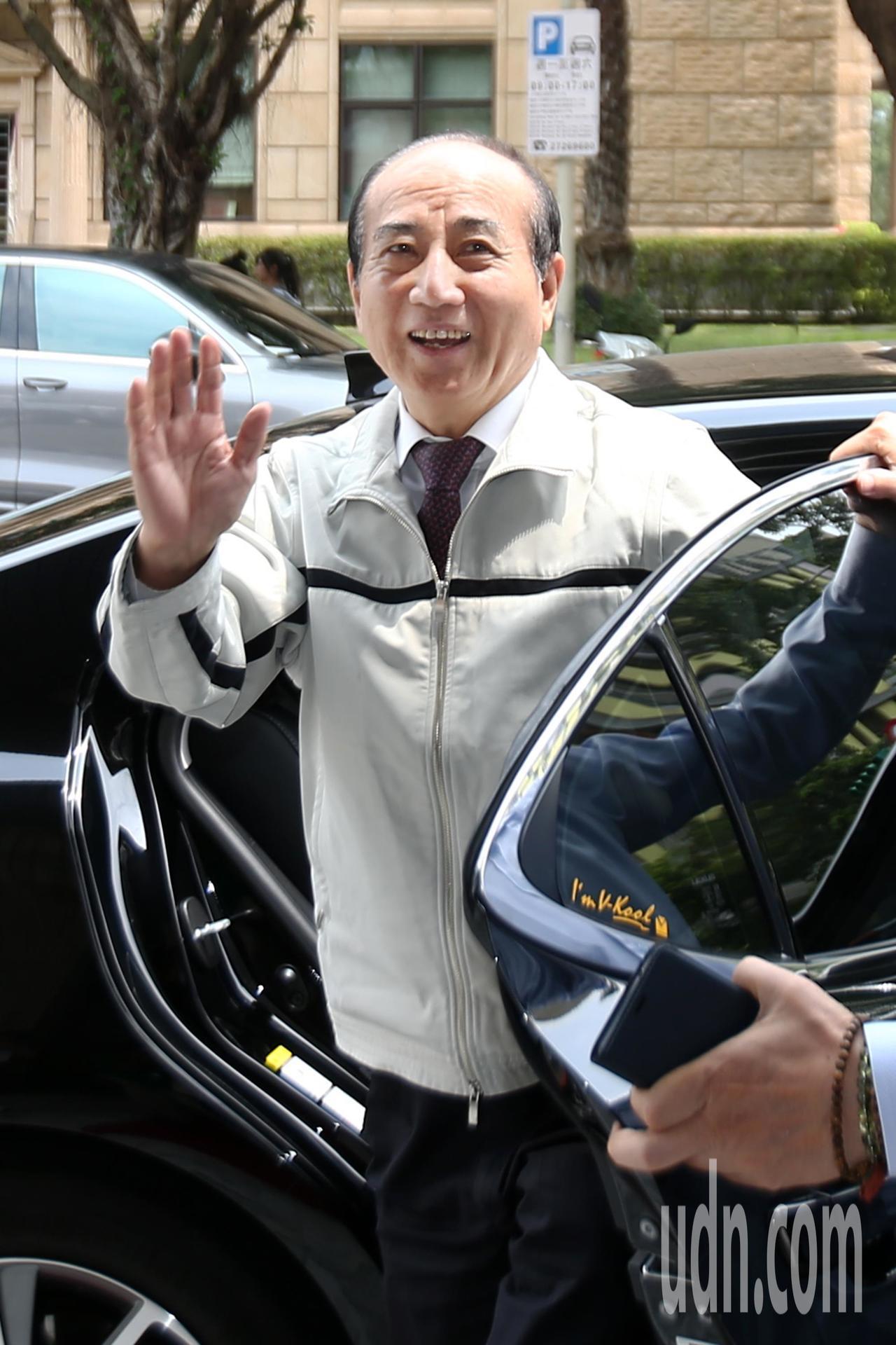 立法院前院長王金平(圖)中午出席中華戰略學會新任理監事聯席餐會。記者蘇健忠/攝影