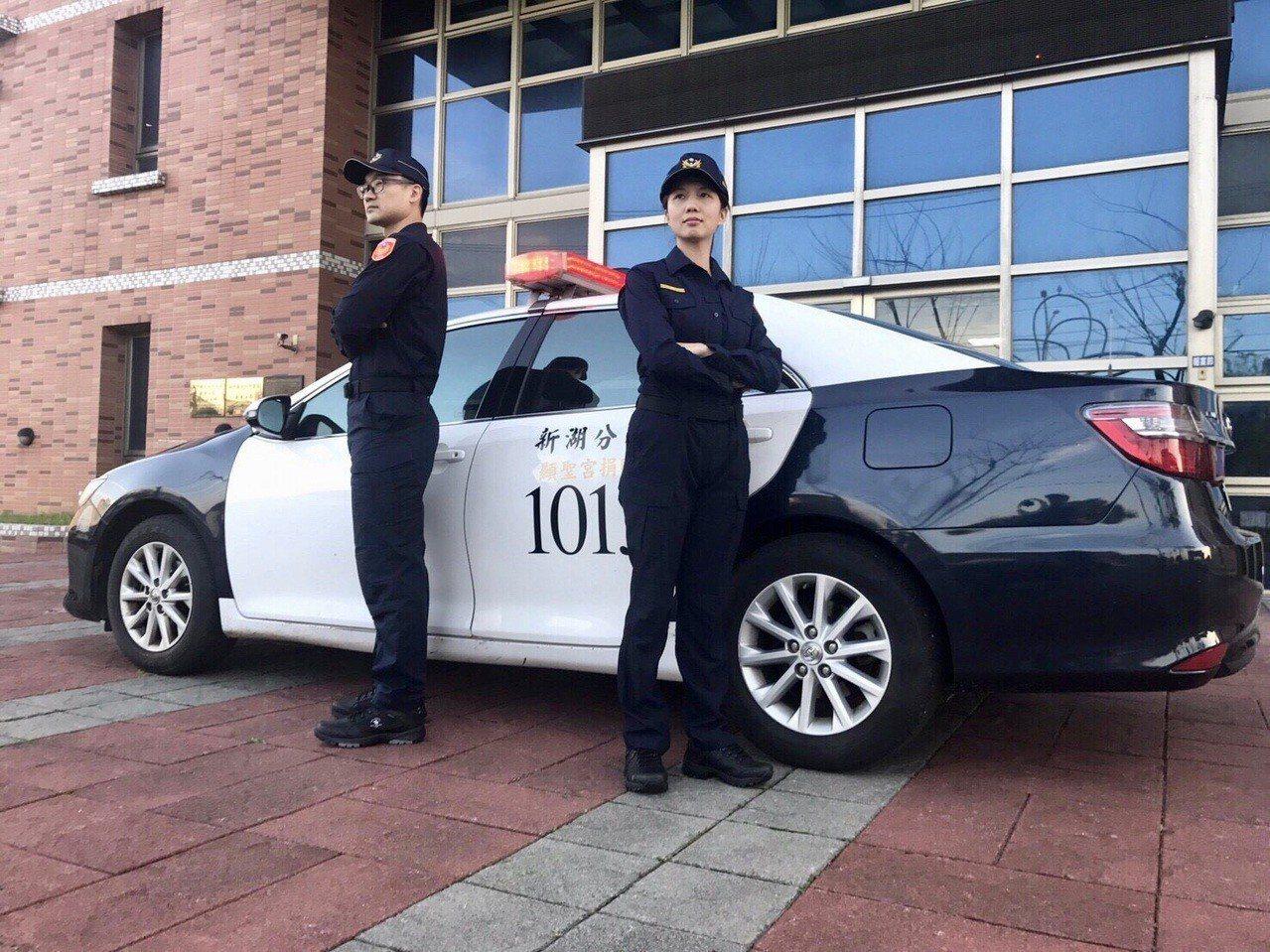員警表示,新式制服很俐落帥氣,更有機能型取向。圖/警方提供