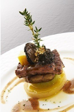 家蒂諾鐵板燒菜色照。圖/翻攝自家蒂諾官網