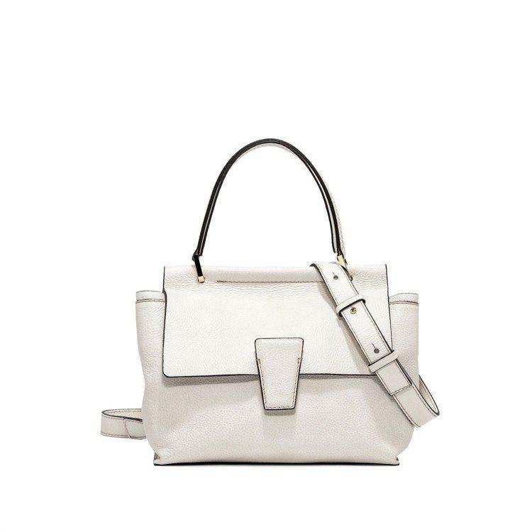 Elletra Romanc經典白色醫生包,售價16,800元。圖/GIANNI...