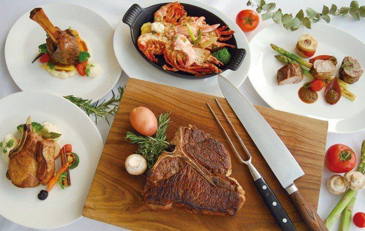 46樓的Top of ONE「頂餐廳」限期推出吃晚餐就送午餐。圖/亞緻大飯店提供