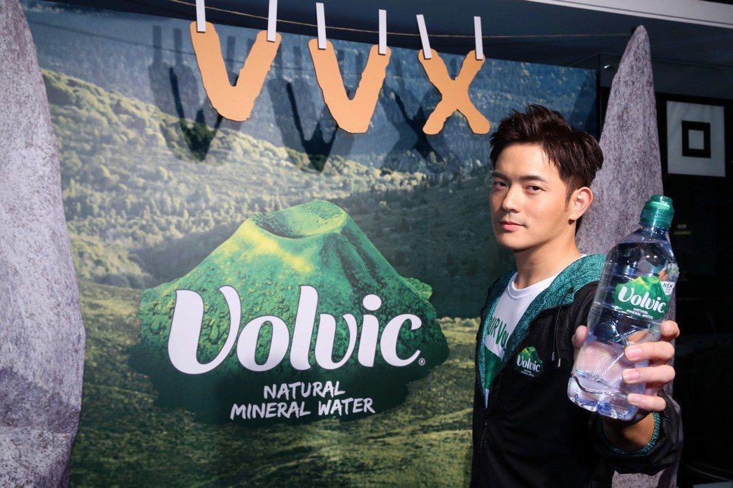 宥勝將前往法國參加VVX火山越野賽。圖/Volvic富維克提供