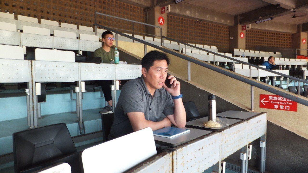 葉君璋認為,龍隊在今年中職年度選秀會可能要挑選20輪以上。記者藍宗標/攝影