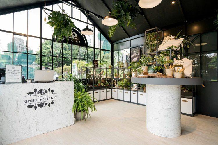 品木宣言在華山,打造「愛地球公益快閃店」。圖/品木宣言提供