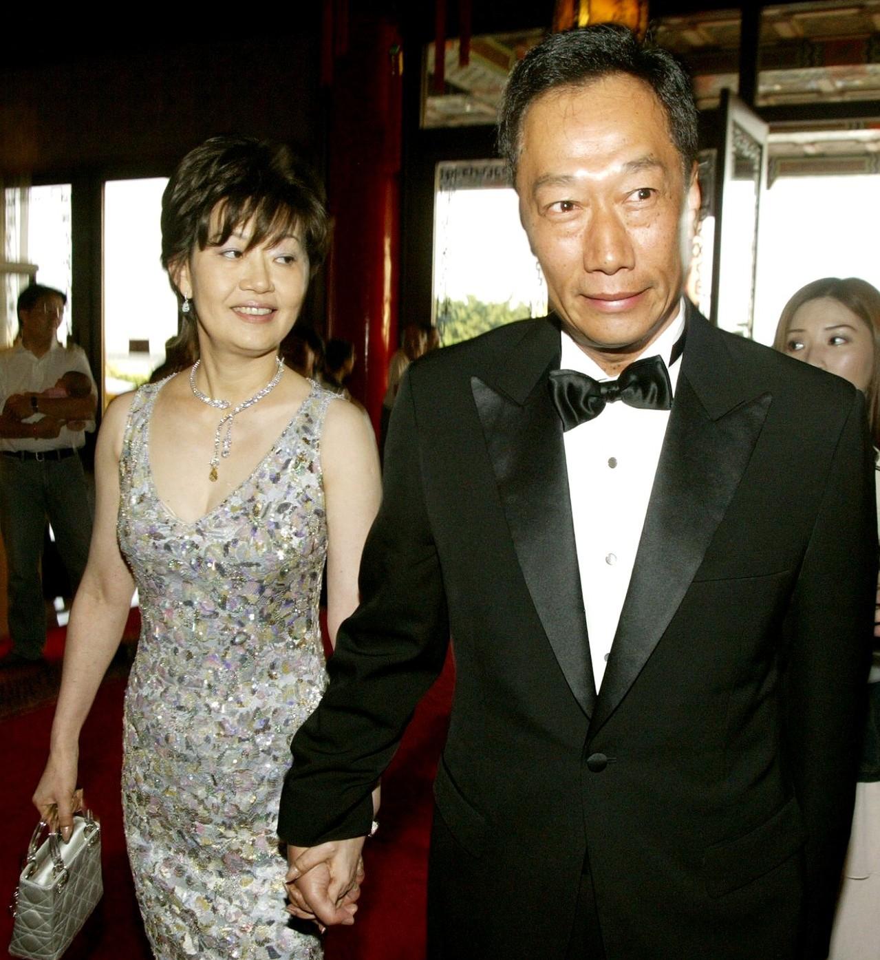 郭台銘對亡妻林淑如(左)一往情深。 圖/聯合報系資料照片