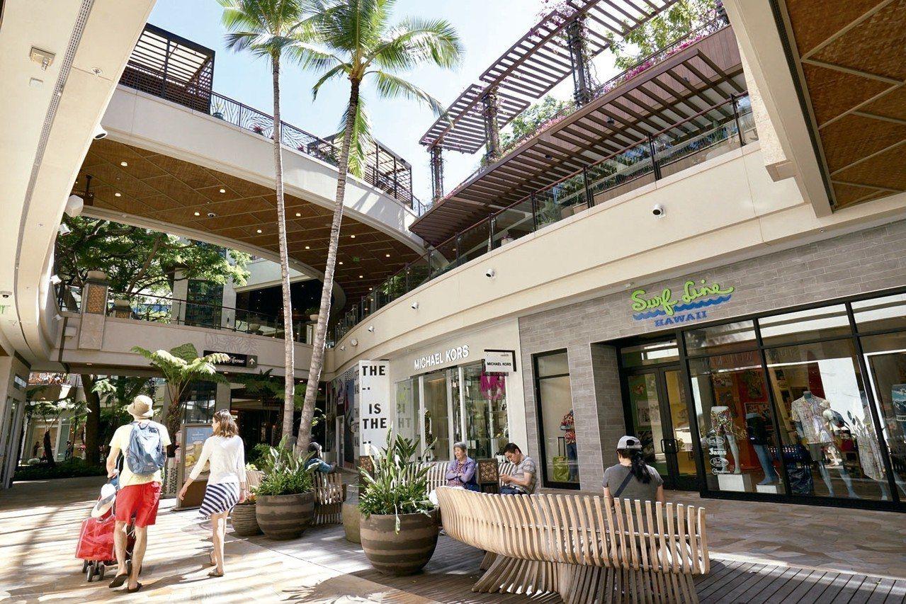 在卡拉卡瓦大道上,有無數的商店和購物中心,是名符其實的購物天堂。 圖/游慧君