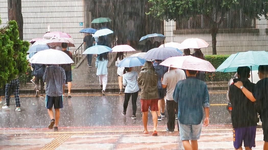 5月1日起有鋒面影響台灣,可說是今年梅雨季的第一道鋒面。 圖/聯合報系資料照片