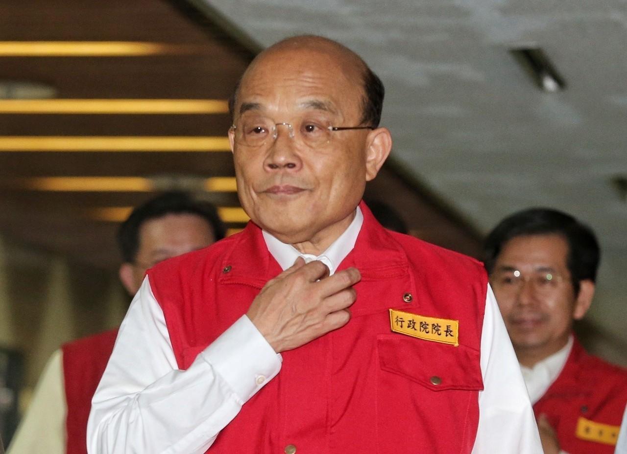 行政院長蘇貞昌。 聯合報系資料照/記者鄭清元攝影