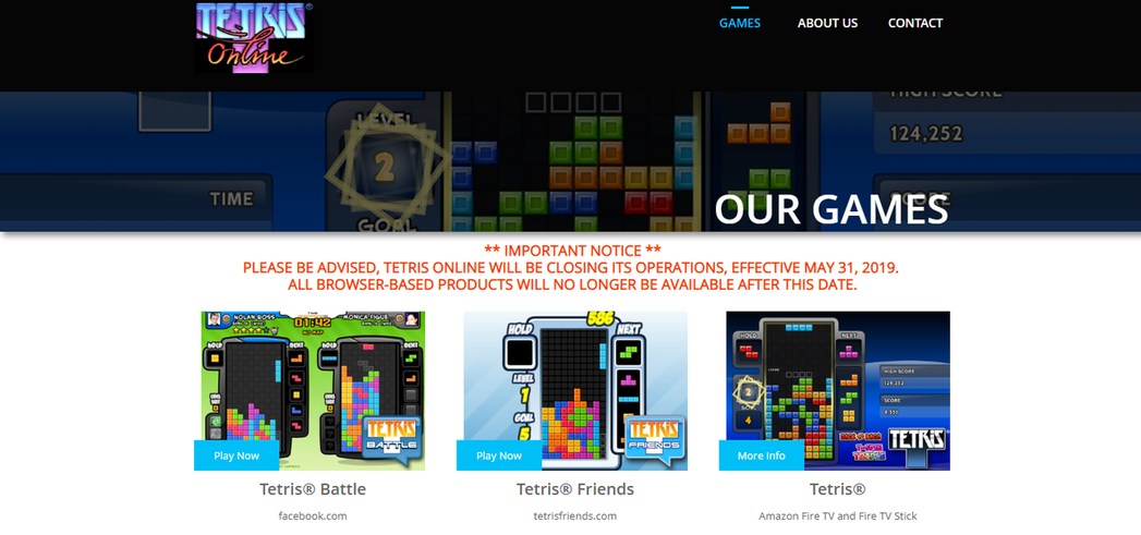 《Tetris Battle》開發團隊宣布 5 月 31 日後停止遊戲營運/圖片...