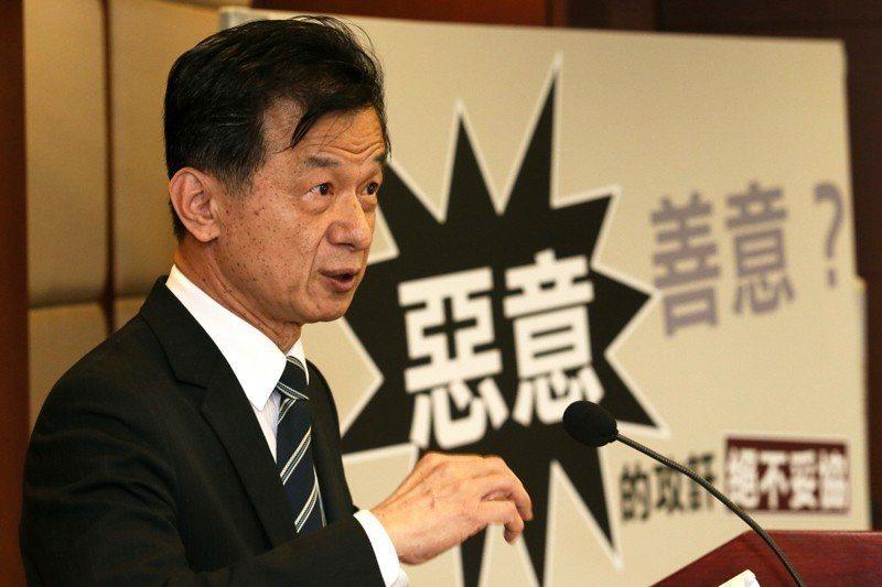 前法務部長、前國安會諮詢委員邱太三。 圖/聯合報系資料照