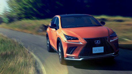 主動安全再強化 日規Lexus NX新年式車型發布!