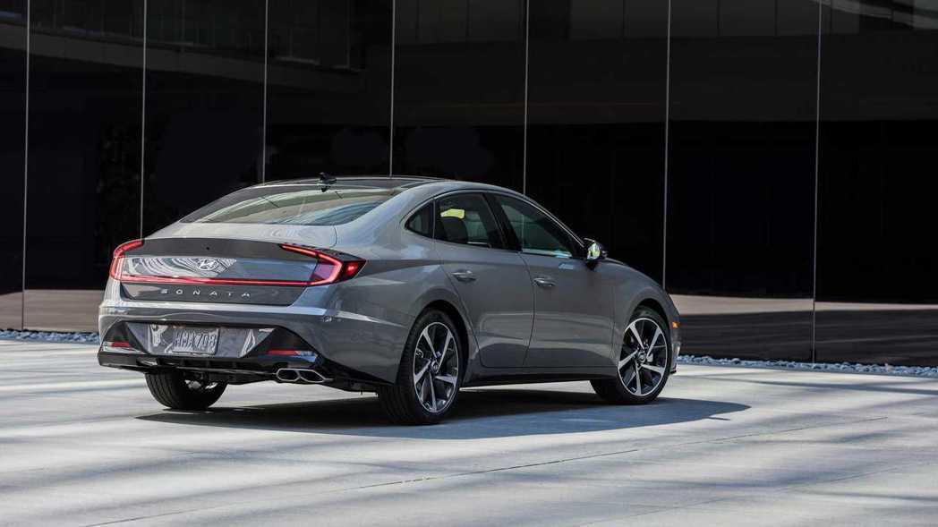 新世代美規Hyundai Sonata正式於2019紐約車展發表。 摘自Hyun...