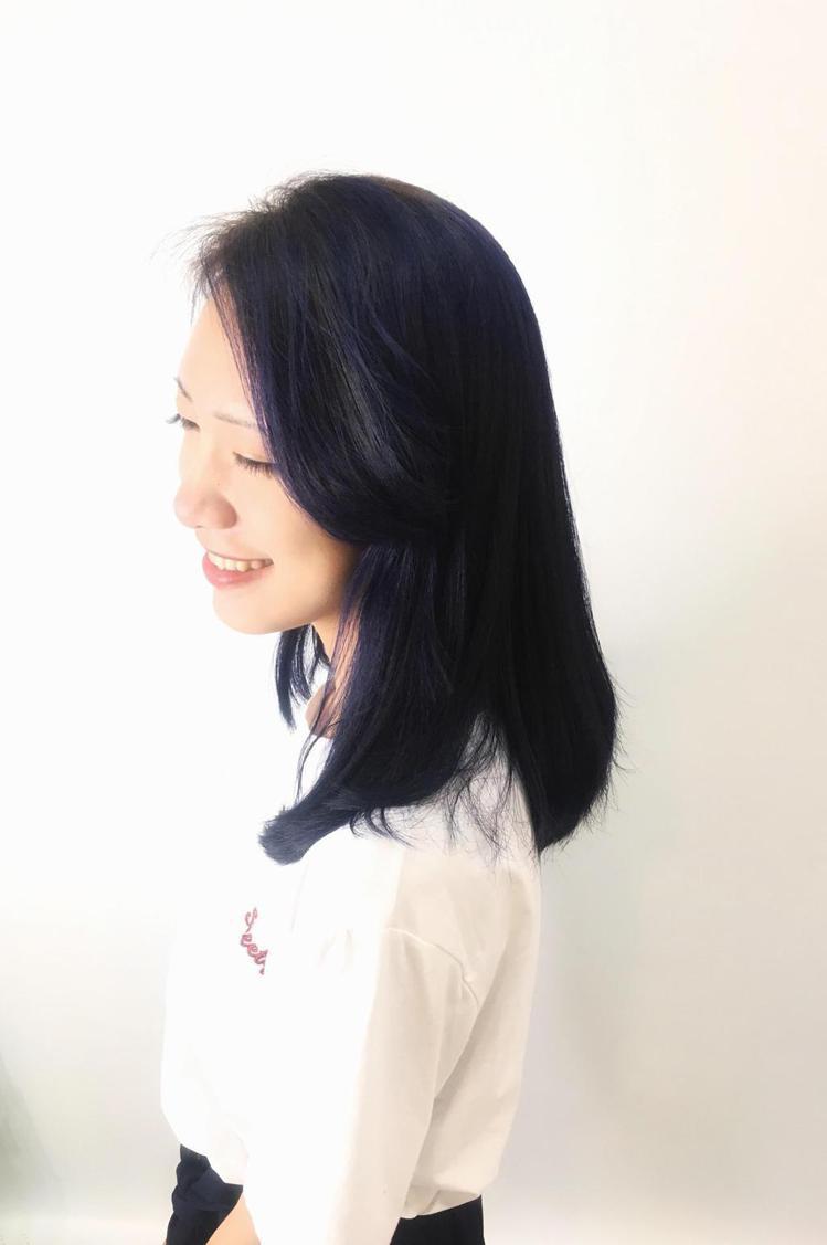 髮型創作/尚洋髮藝 基隆店 / 尚洋 基隆店Ruby。圖/StyleMap提供