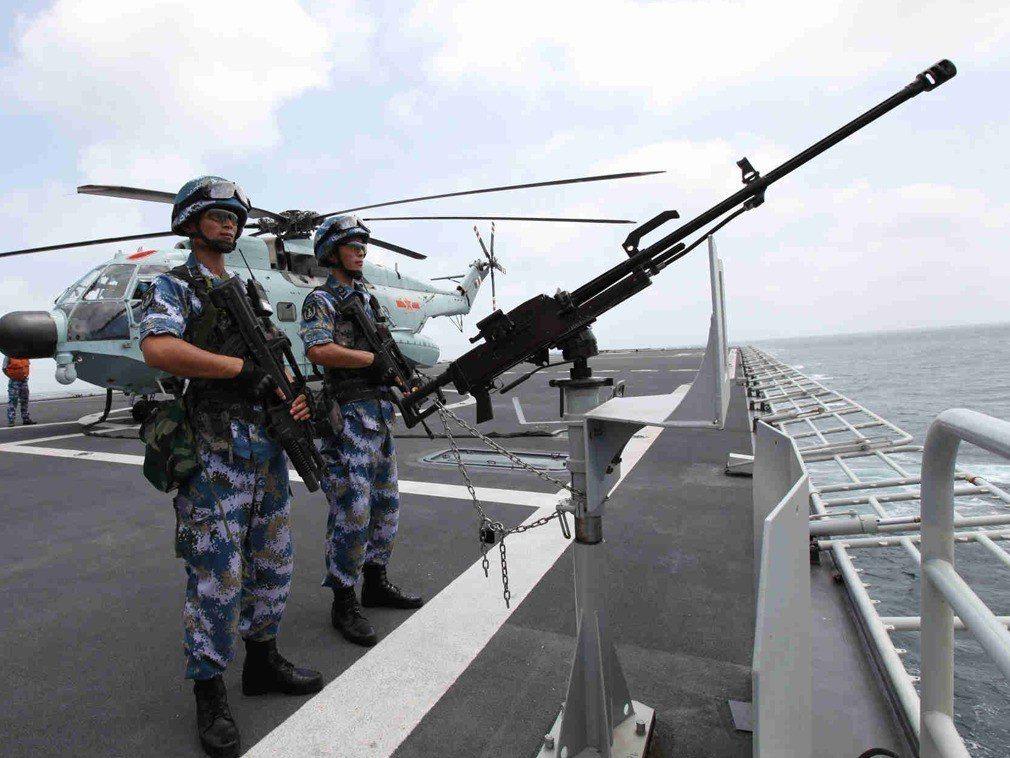 4月23日是解放軍海軍建軍70周年。新華社資料照。