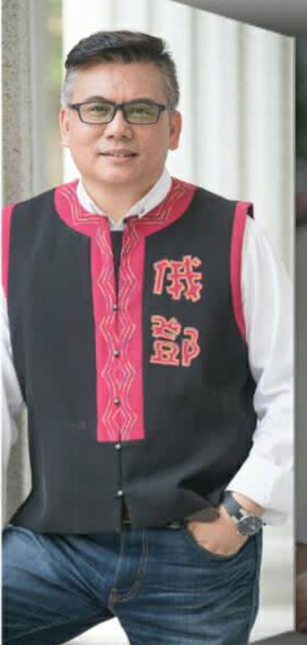 民進黨前高市議員俄鄧.殷艾。圖/翻攝臉書俄鄧殷艾粉絲團