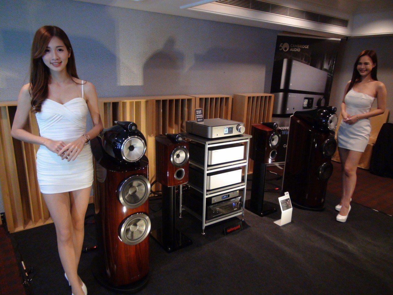 一年一度的音響展在高雄市國賓飯店租用80間房間,包下四個樓層,要讓消費者聆賞好音...