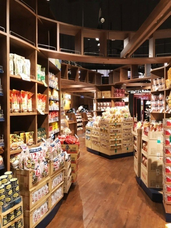 咖樂迪咖啡農場環球中和店,有近千項商品種類。圖/Global Mall提供