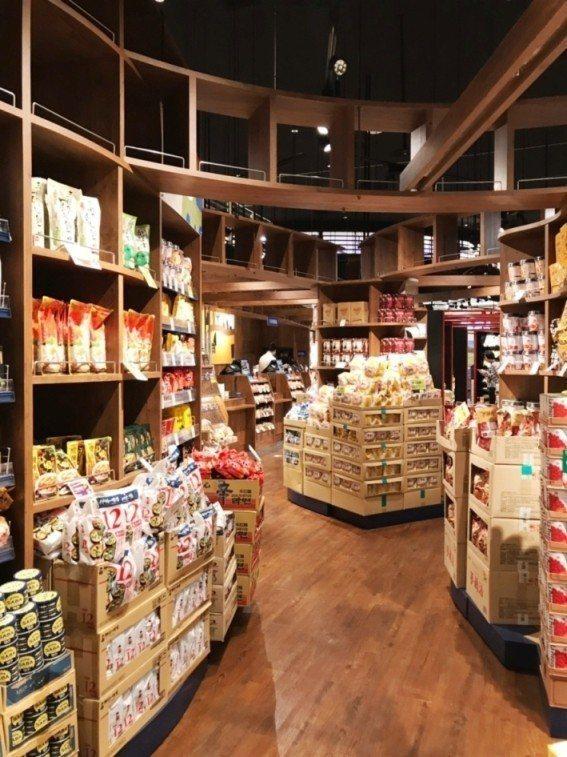 咖樂迪咖啡農場環球中和店,有近千項商品種類。