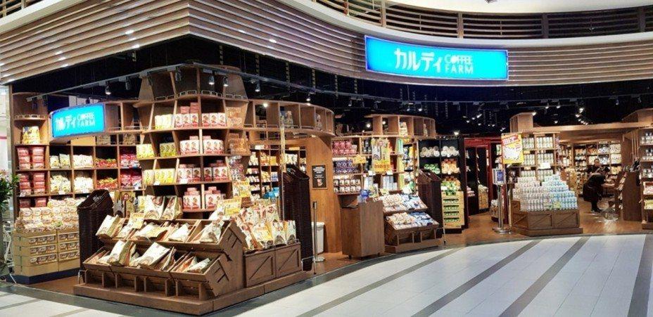 中和環球引進全台最大的咖樂迪咖啡農場 。圖/Global Mall提供