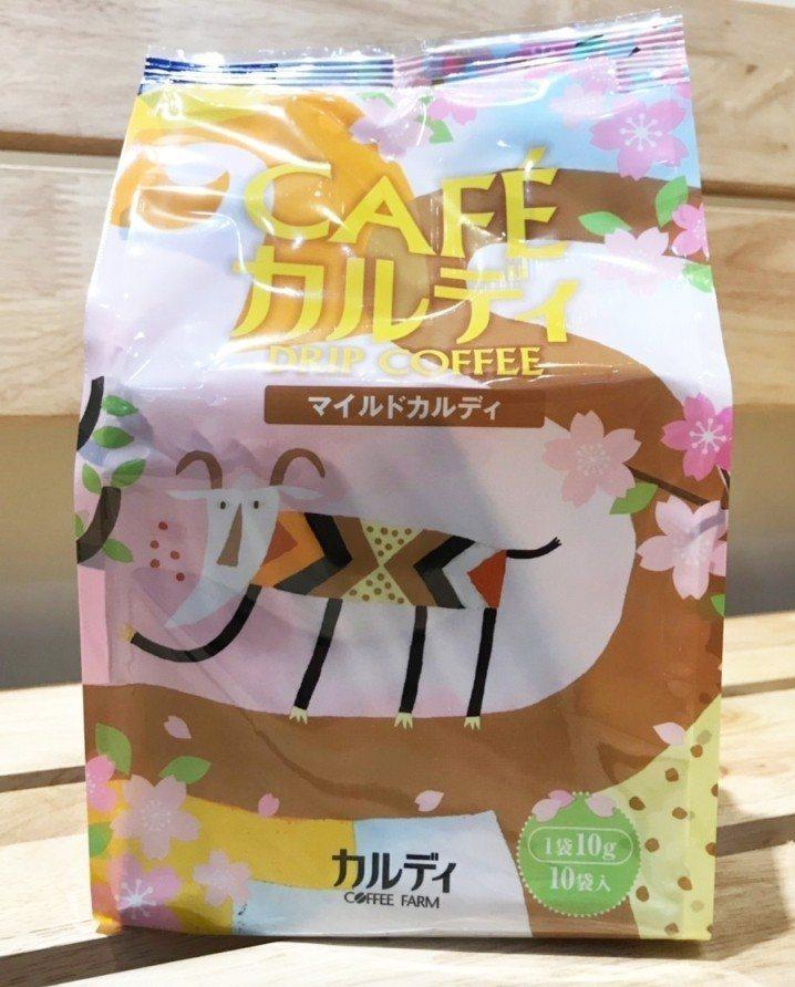 必買人氣商品第一名,濾掛式咖啡柔和咖樂迪,160元。圖/Global Mall提...