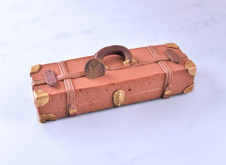 「愛的旅行箱」售價1,150元。圖/台南晶英酒店提供