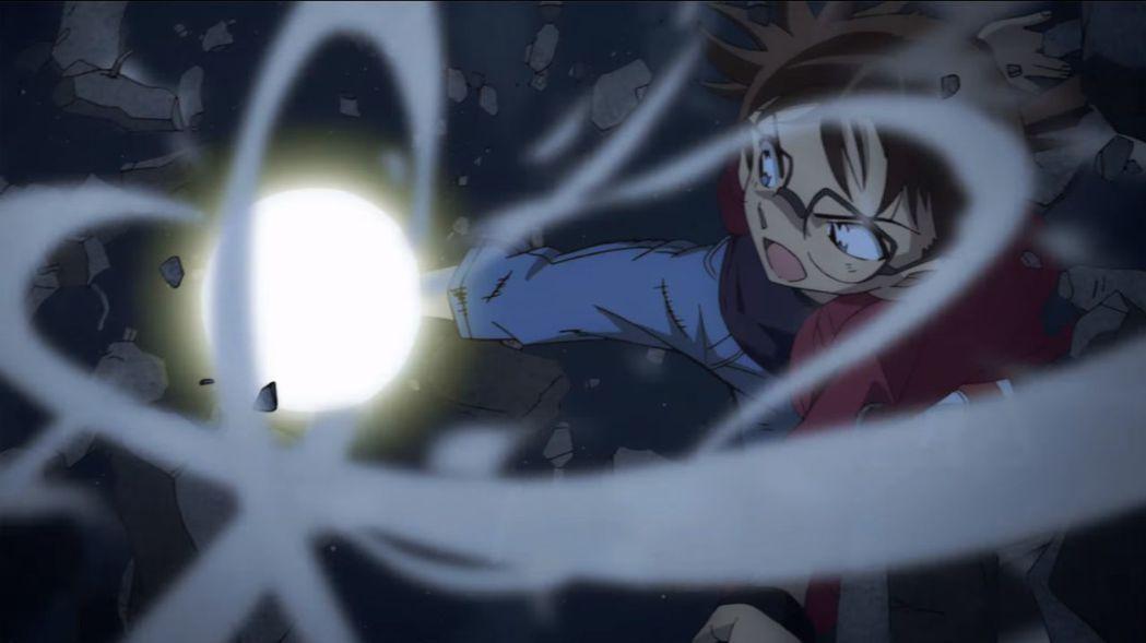 柯南在《名偵探柯南:紺青之拳》再次遭遇重大挑戰。圖/向洋提供