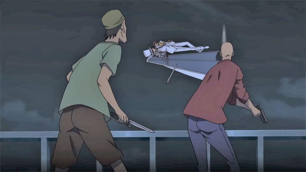 怪盜基德在《名偵探柯南:紺青之拳》同樣是華麗登場。圖/向洋提供