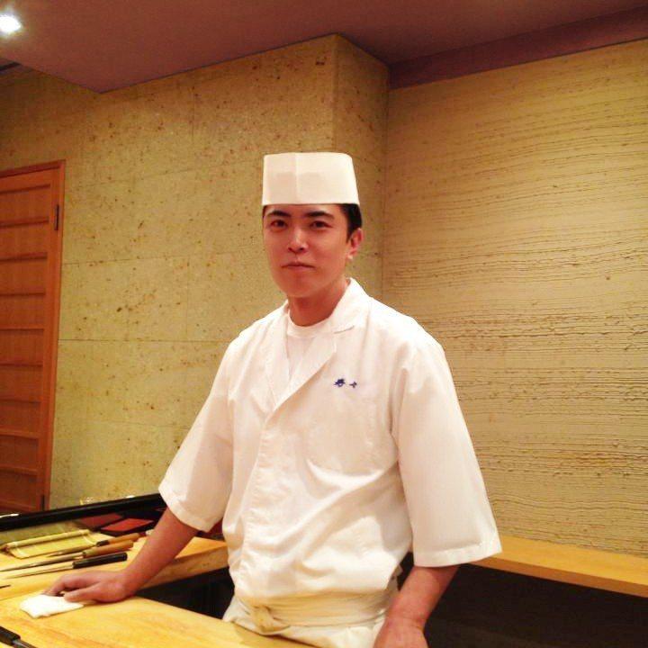 東京壽司名店「寿し処 寿々」料理長藤居陽一郎首度來台客座。西華飯店/提供