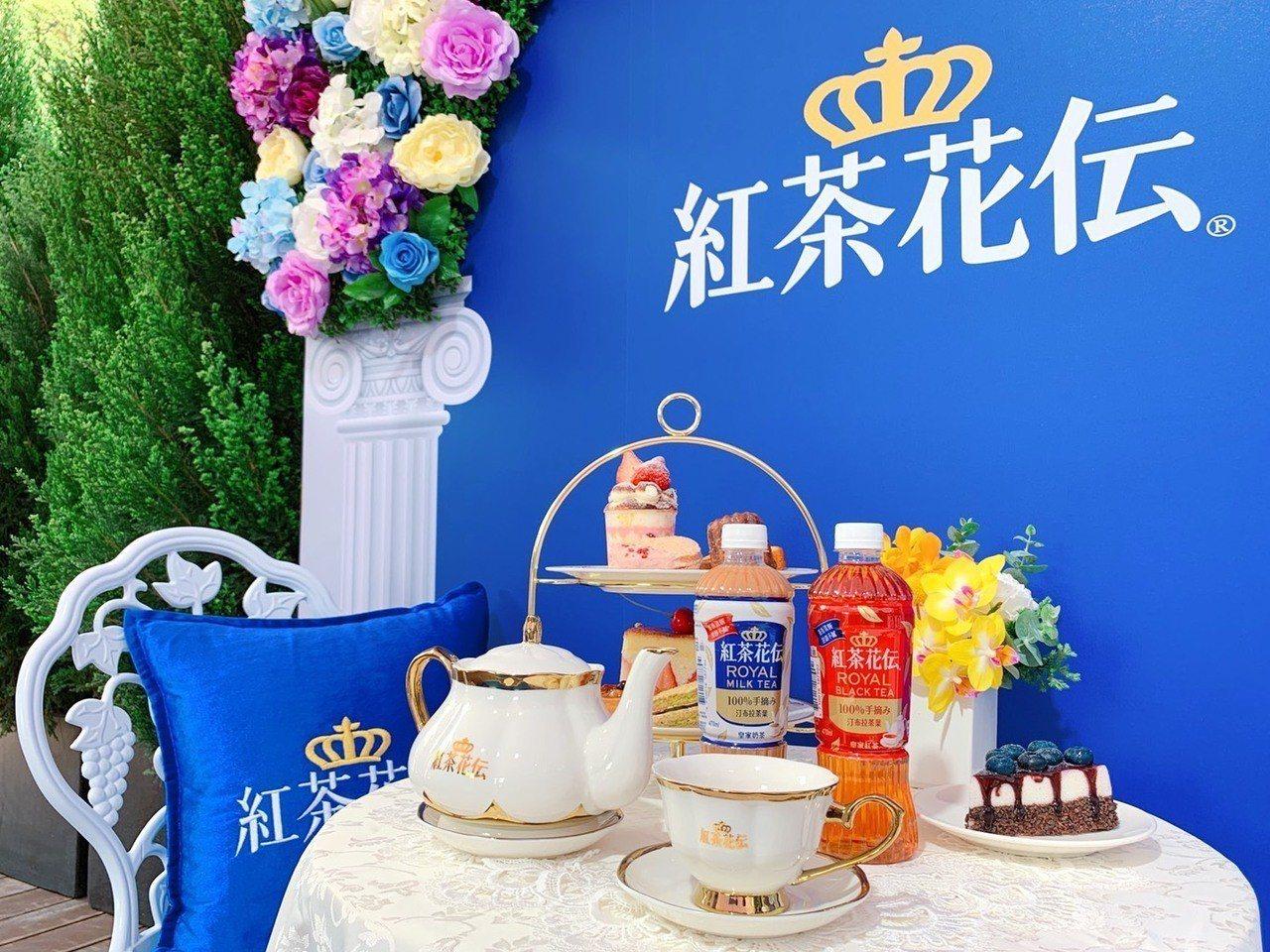 「紅茶花伝」搭配午茶享用滋味一絕。記者徐力剛/攝影