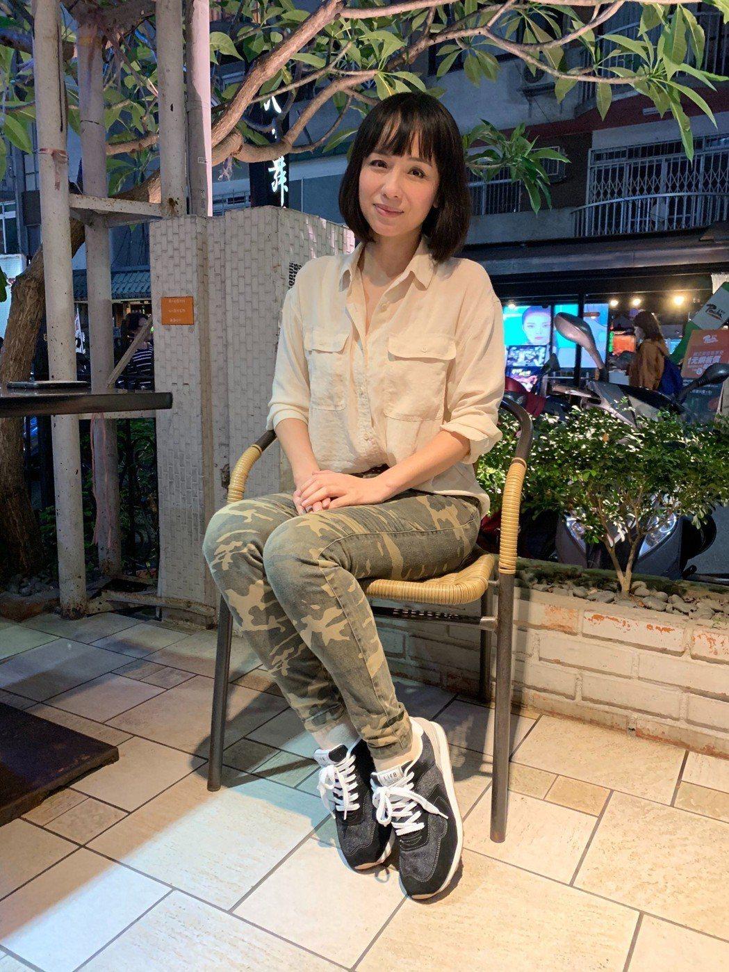 演員陳怡真外表凍齡,看不出已出道近30年。記者陳慧貞/攝影