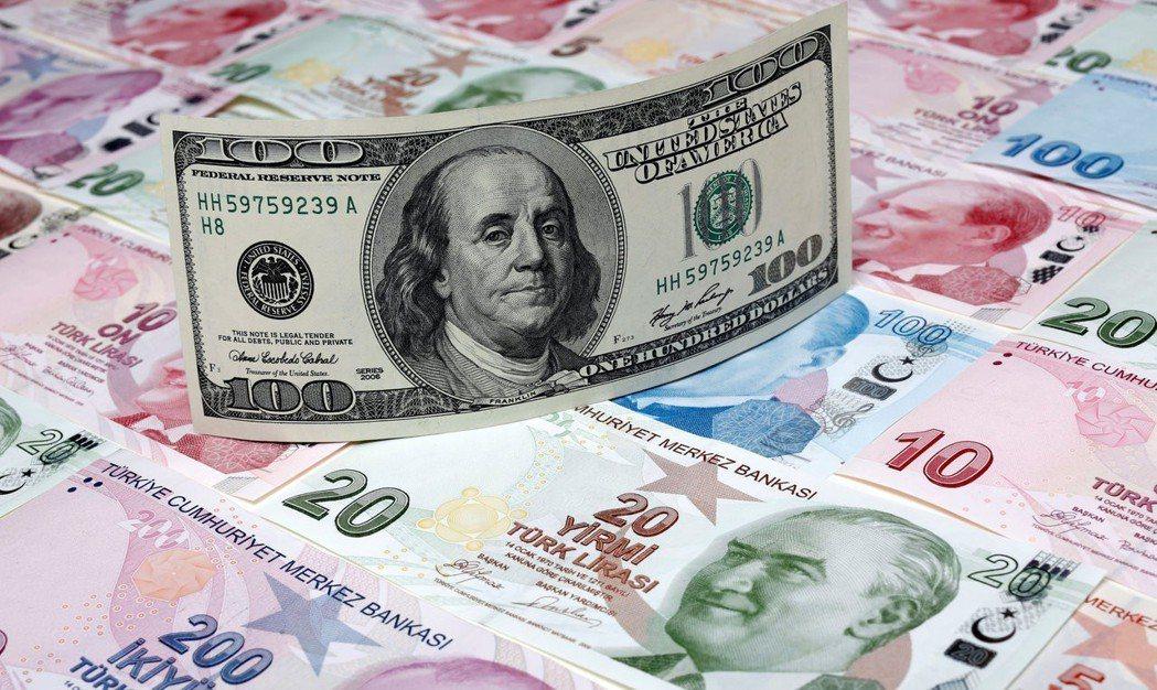 土耳其里拉目前行情波動劇烈,有別於相對平靜的美元、歐元及日圓。路透