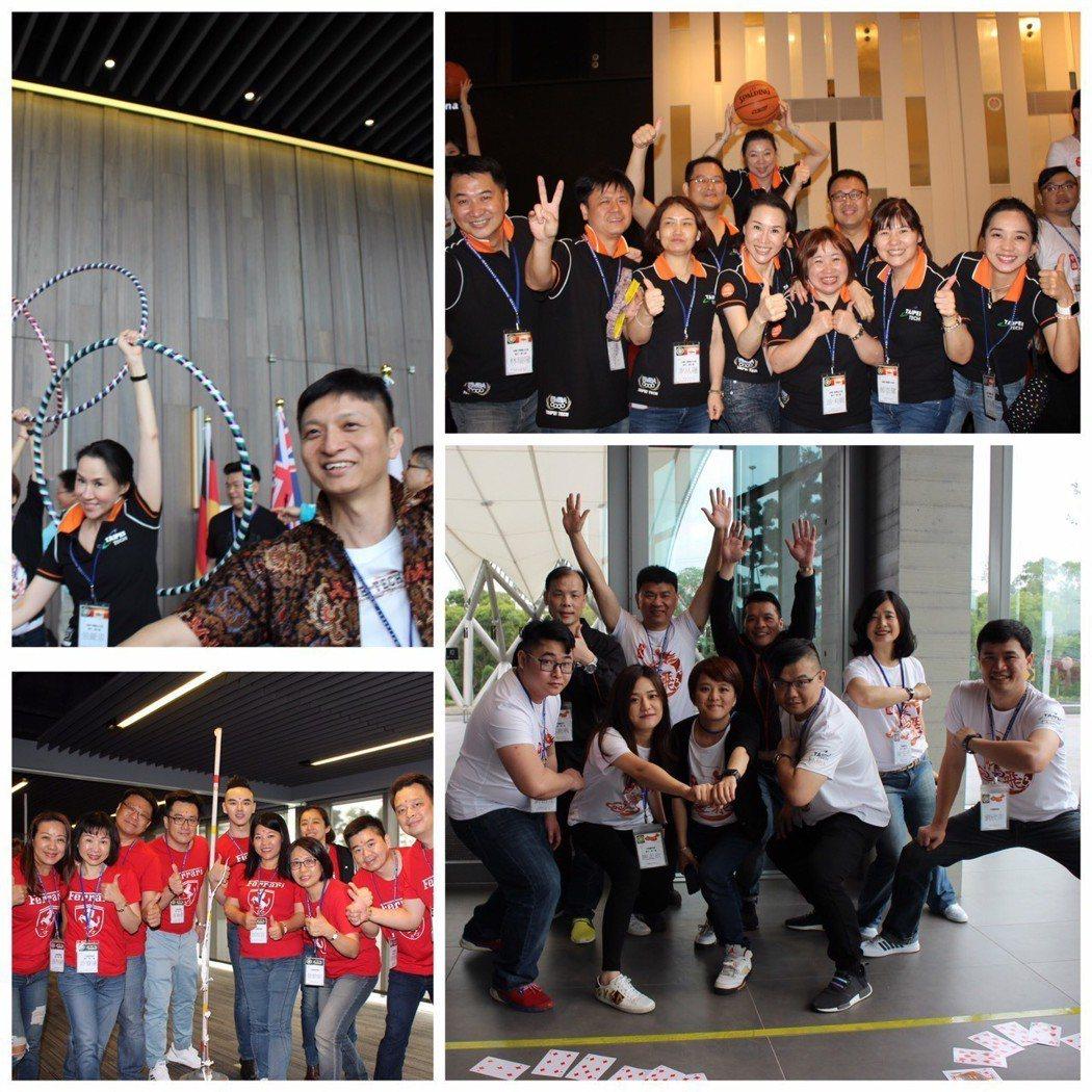 寰騰匯系列活動設計,第一天的寰騰動,以透過各項遊戲競賽,增進組內成員互動合作。 ...