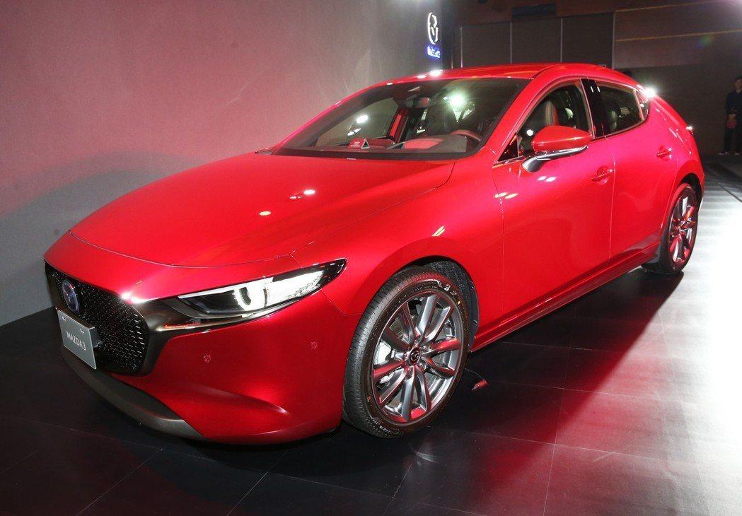 Mazda 3 記者徐兆玄/攝影