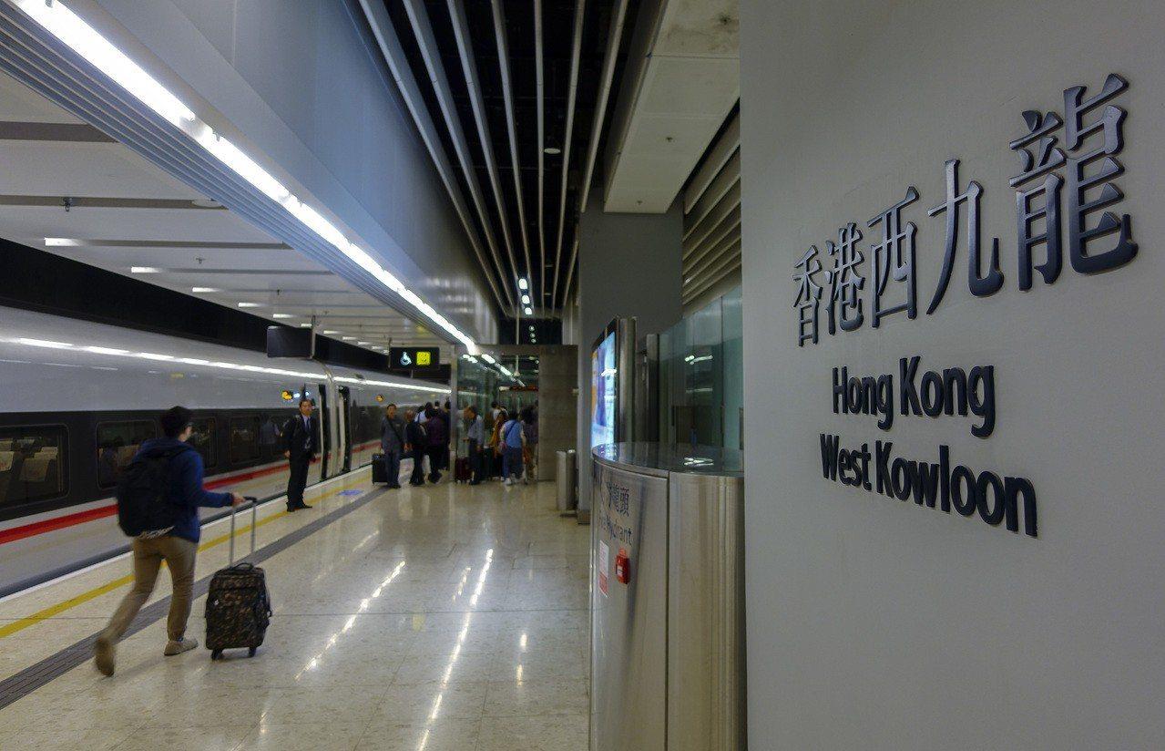 傳廣深港高鐵香港段擬進一步優化票務安排,即購票後隨時上車。圖/香港中國通訊社