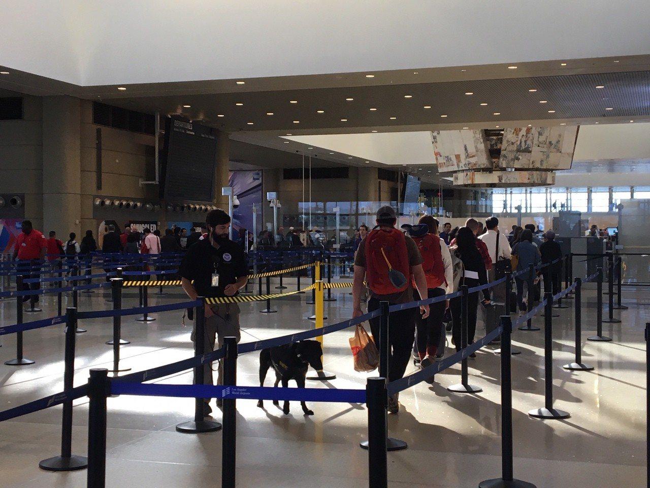 簽證率下降也直接影響到遊客數量。記者張宏/攝影