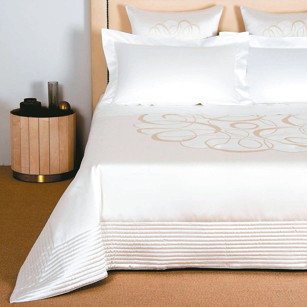 大滿版設計是在素色寢飾上面以單一圖騰呈現,因為技術較高,通常大滿版寢飾價位也會比...