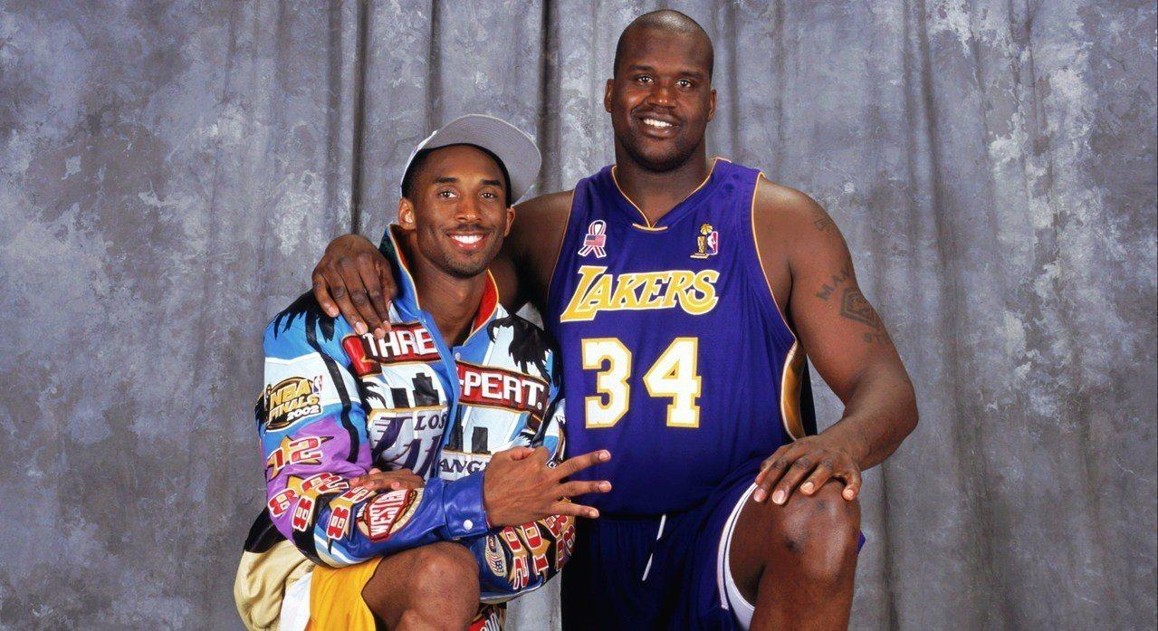 大歐(右)與小布。 NBA