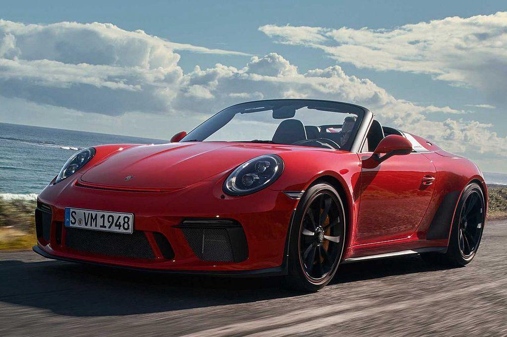 手排+自然進氣引擎!保時捷於紐約車展發表911 Speedster限量尤物跑車