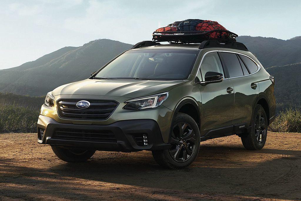 全新第六代Subaru Outback換裝新SGP模組化底盤平台,車艙空間表現更...