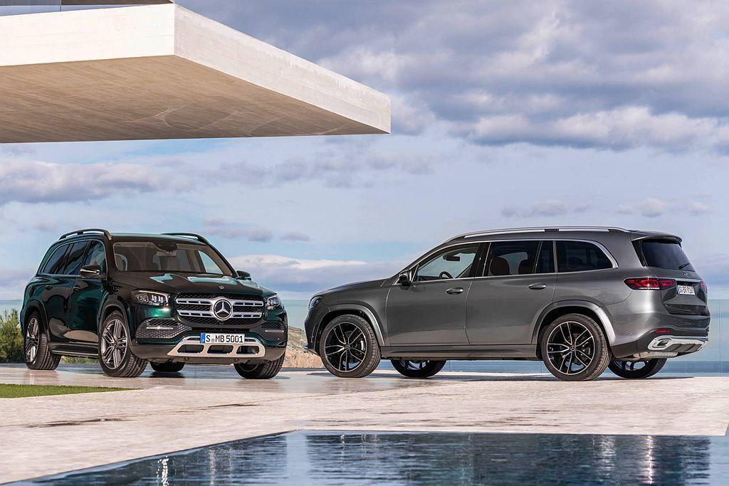 賓士品牌有史以來尺碼最大、最豪華的全新第三代GLS,車身長度達到5,207mm並...