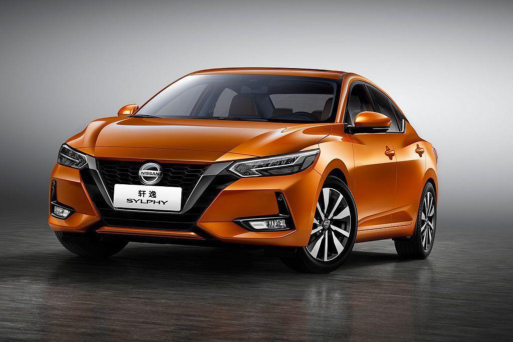 大改款Nissan Sentra與中國東風日產版本幾乎一致。 圖/Nissan提...