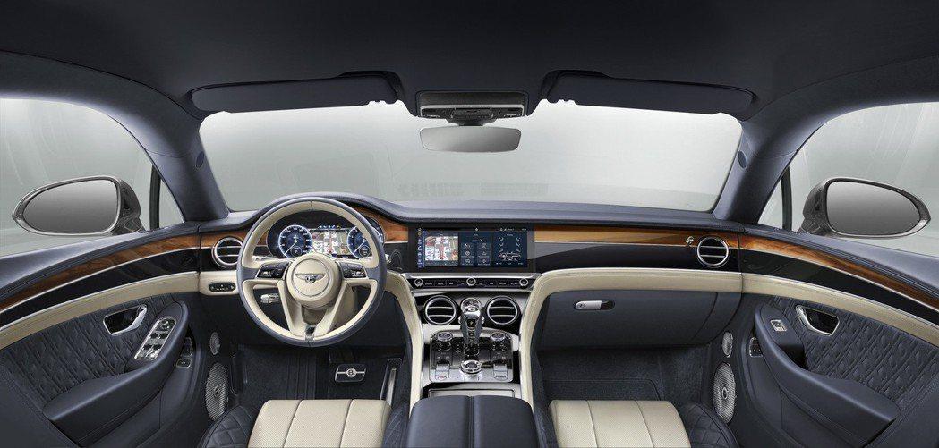 Bentley Continental GT 內裝。 摘自Bentley