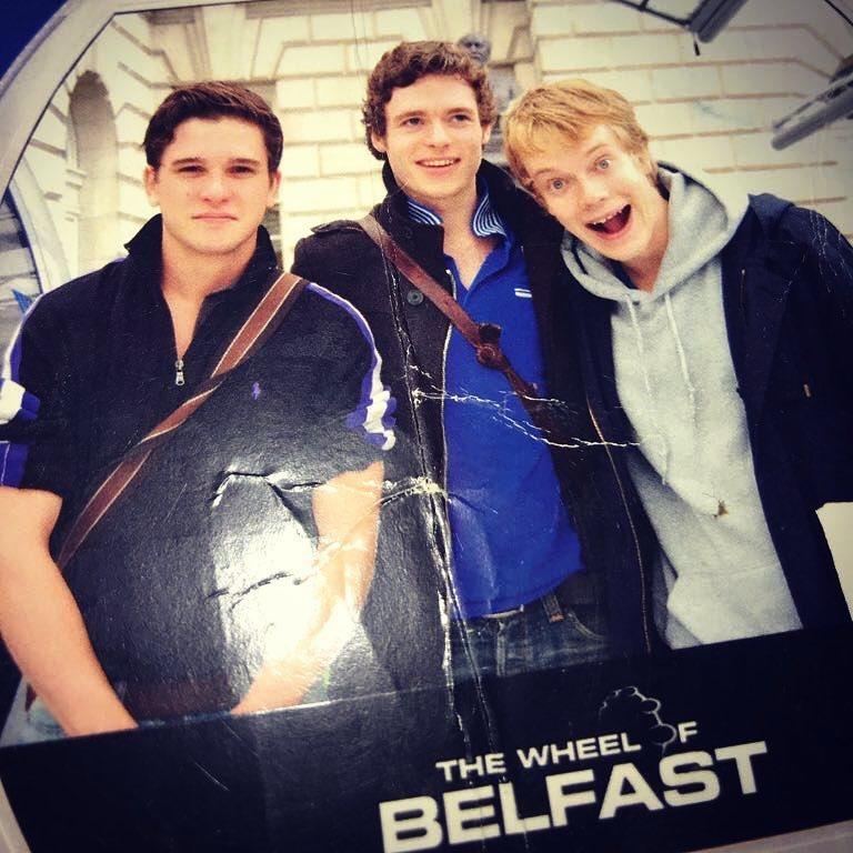基特哈林頓(左起)、李察馬登、艾菲艾倫近10年前都還是年輕小伙子,不脫稚氣。圖/