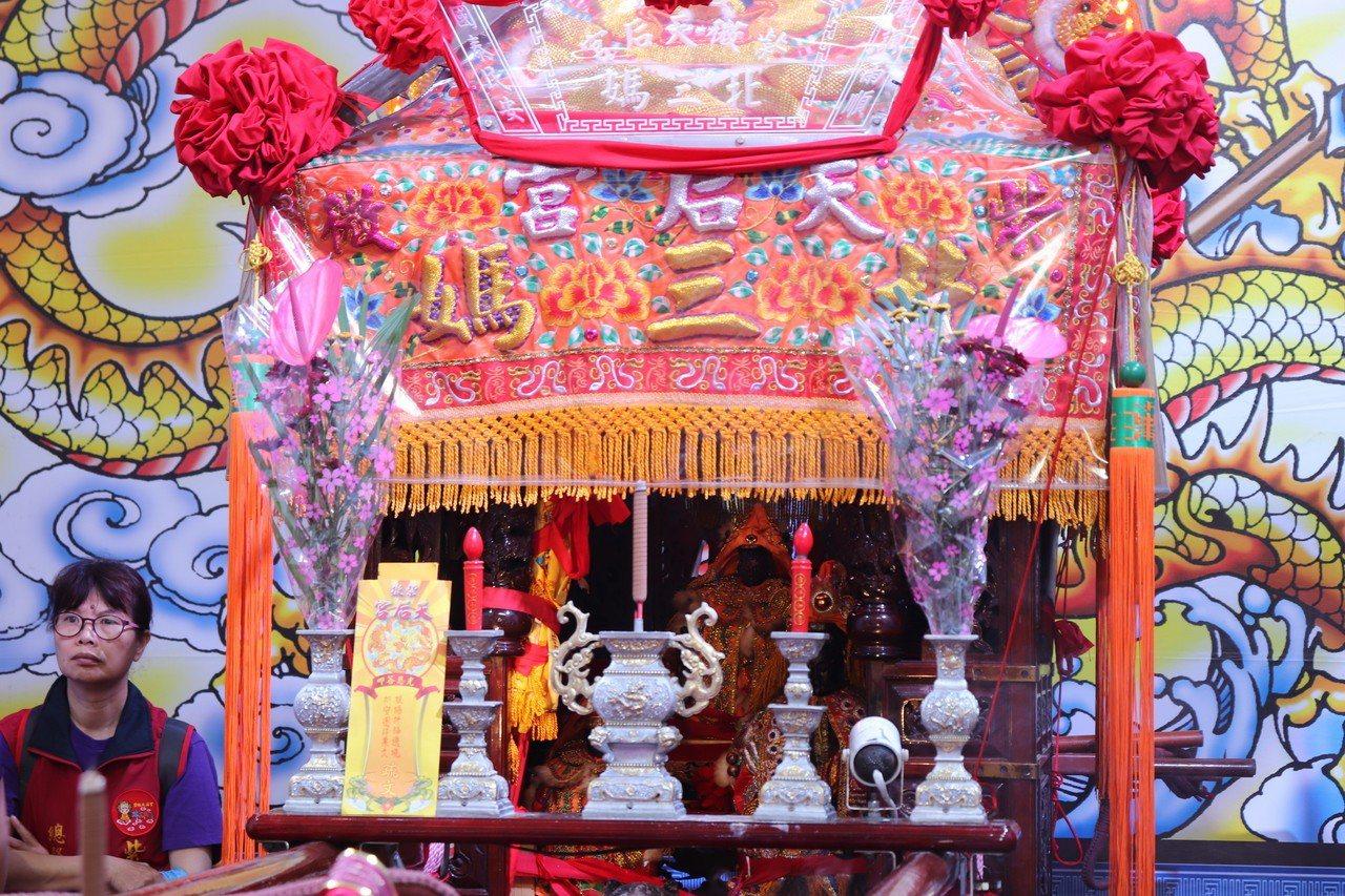 已有20年歷史的三峽紫微天后宮北三媽繞境活動,為慶祝媽祖誕辰,今明兩天將在板橋及...