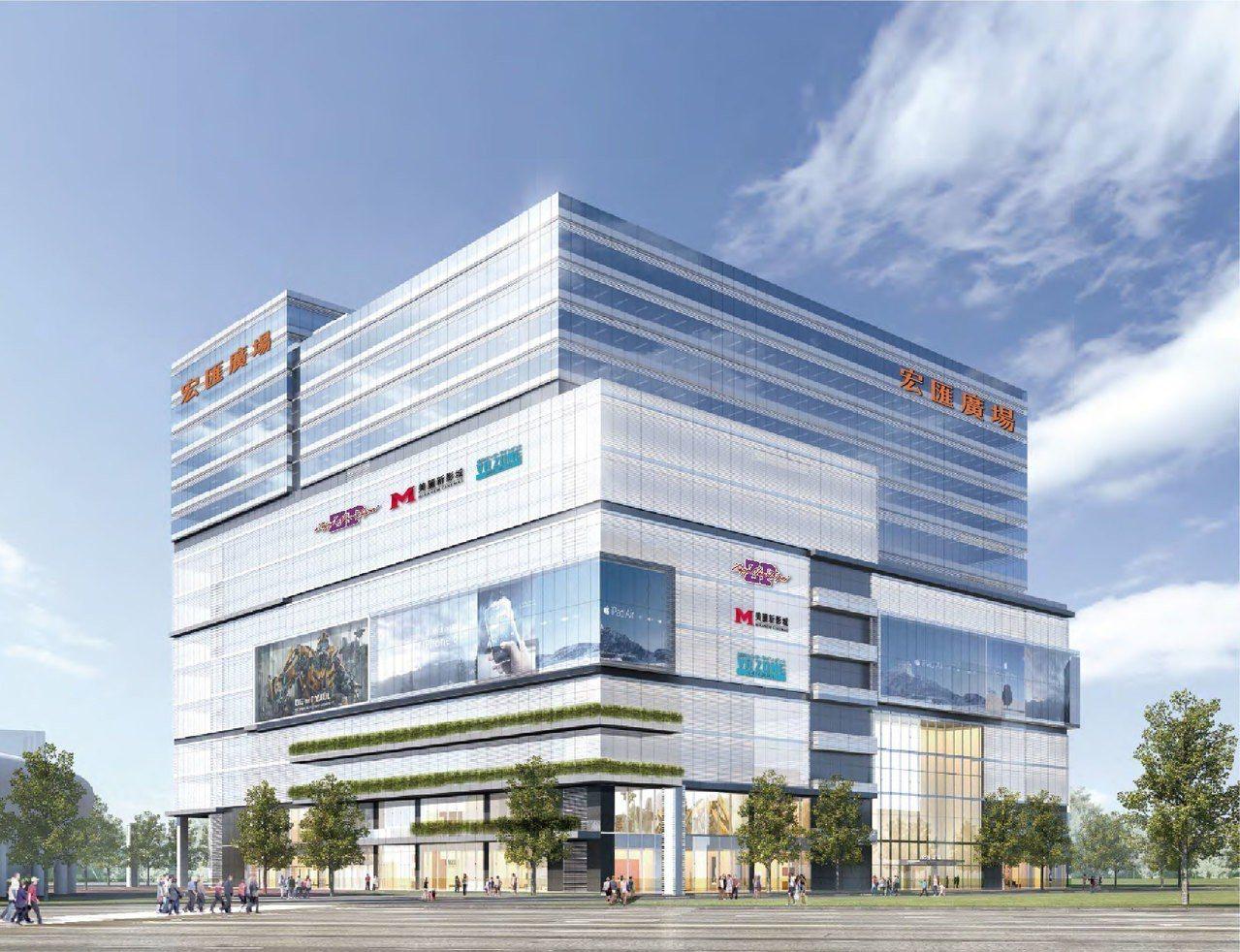 新莊副都心在2020年初春也將迎來宏匯廣場,其營業面積達2.6萬坪,是一個地下7...