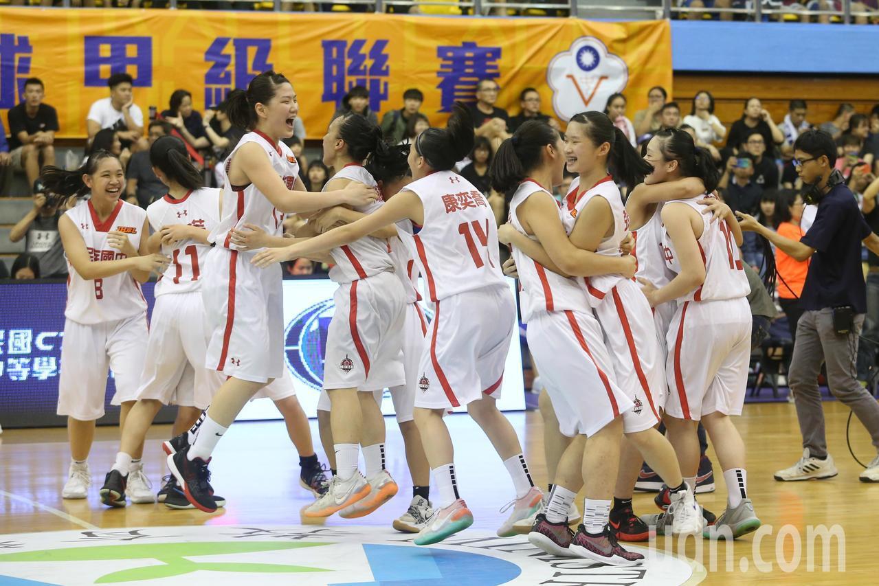 今天下午JHBL女籃由北市民族對上南市永仁,最後民族以71:57獲勝,賽後球員開...