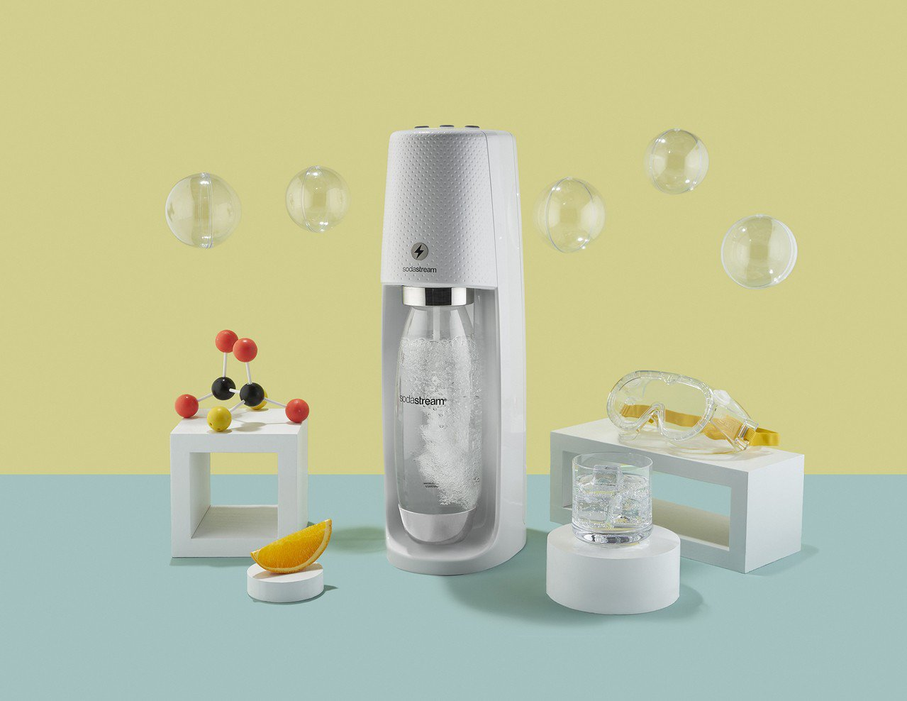 sodastream Spirit One Touch氣泡水機,建議售價6,50...
