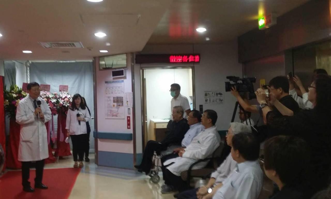 高雄市阮綜合醫院舉辦Radixact「瘤定息」螺旋斷層放射治療系統研討會。圖/阮...