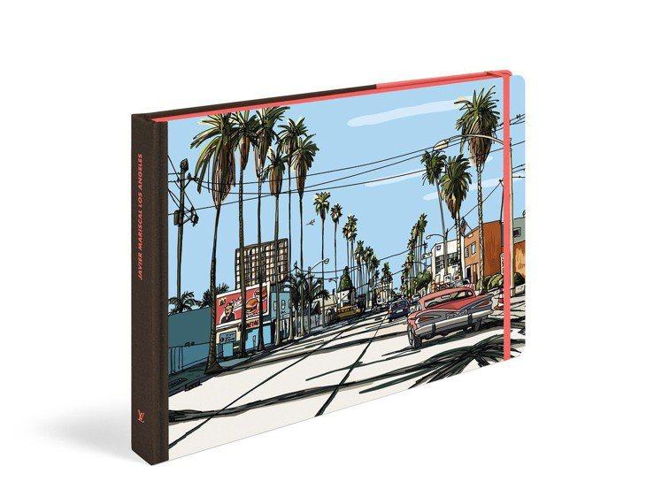 洛杉磯旅遊繪本,售價1,750元。圖/LV提供