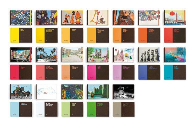 路易威登出版旅遊繪本已有近20年歷史。圖/LV提供